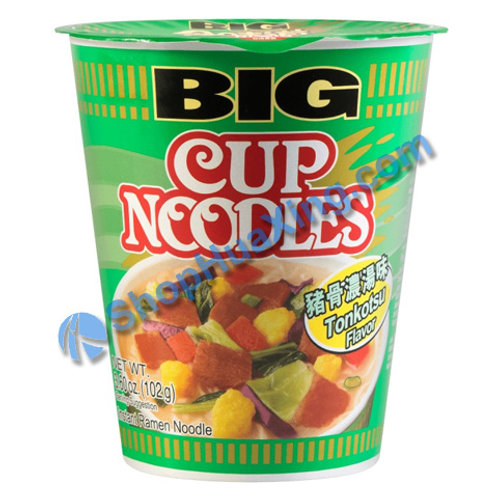 03 Tonkotsu Flv Big Cup Noodle 合味道 猪骨浓汤杯面 102g