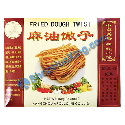 03 Fried Dough Twist 大中华 麻油馓子 150g