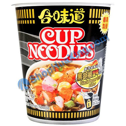 03 Black Pepper Crab Flv Cup Noodle 合味道 黑胡椒蟹味杯面 74g