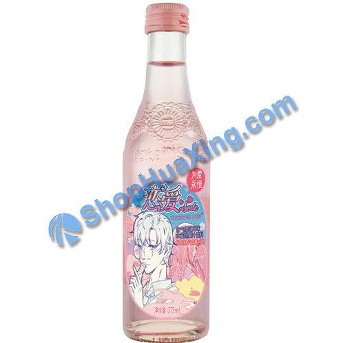 04 Hankow Er Chang Sakura Flv. & Juicy Peach Soda 樱花风味水蜜桃果汁饮料 275mL