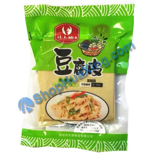 05 Dou Fu Skin 马大姐厨坊 豆腐皮 五香味 150g
