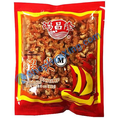 01 Dried Shrimp M 鸿昌隆 虾米 3oz