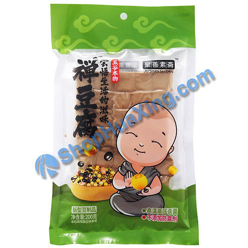 04 Dried Beancurd 聚善素斋 禅豆腐 200g