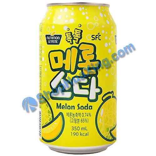 04 SFCbio Sparkling Melon Flv. 蜜瓜味汽水 350ml