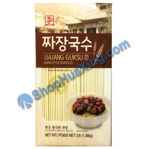 03 Jjajang Guksu Asian Style Noodles 李牌 炸酱面 3LB