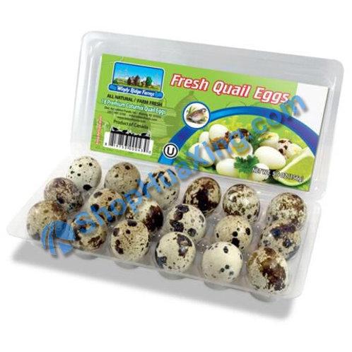01 Fresh Quail Eggs 18pc 鹌鹑蛋18颗