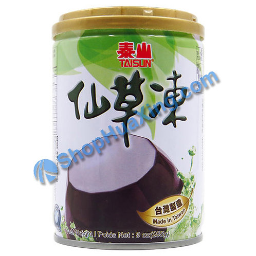04 Taisun Grass Jelly Pudding 泰山仙草冻 255g