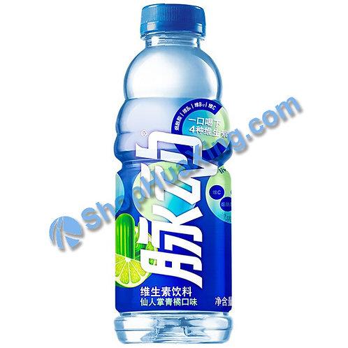 04 MiZone Vitamin Beverage Cactus & Green Tangerine Flv. 脉动维生素饮料 仙人掌青橘口味 600mL