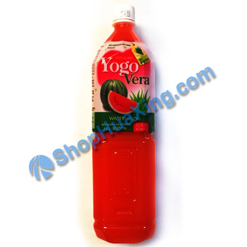 04 Yogurde Savila With Aloe Vera Watermelon Flv 韩式乳酸饮料 西瓜味 1.5L