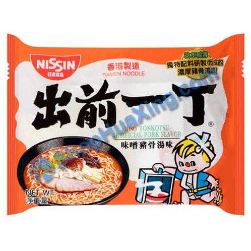 03 Nissin Miso Tonkotsu Flv Instant Noodle 出前一丁面 味噌猪骨汤味 100g