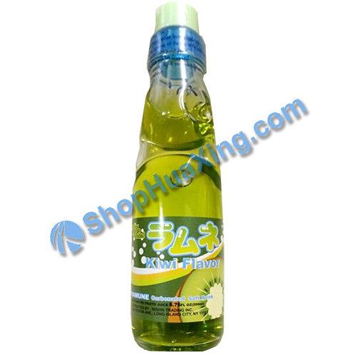 04 Nishin Kiwi Flavor Ramune 日新弹珠汽水 猕猴桃味 200ml