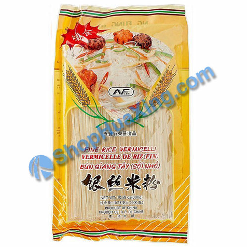 03 Fine Rice Vermicelli 五丰牌 银丝米粉 300g