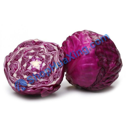01 Red Cabbage 3.3-3.6LB 红包菜 /包
