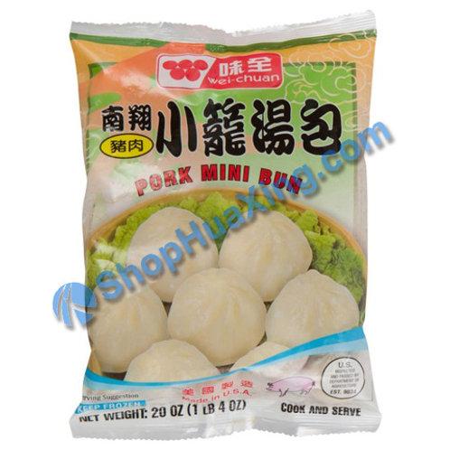 05 WC Pork Mini Bun 味全 南翔猪肉小笼包 20oz