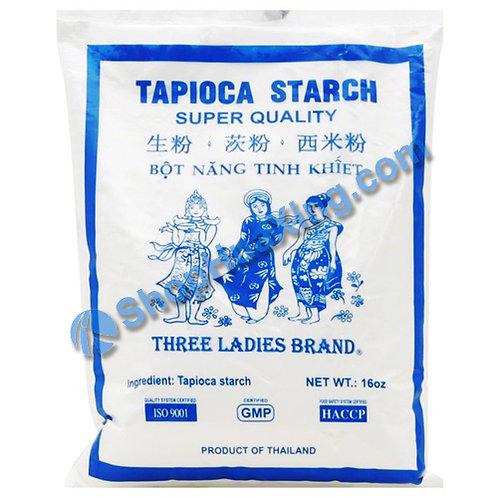 03 Three Ladies Tapioca Starch 三女人 西米粉 16oz
