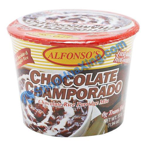 04 Chocolate Champordo Rice Porridge Mix 巧克力粥 55g