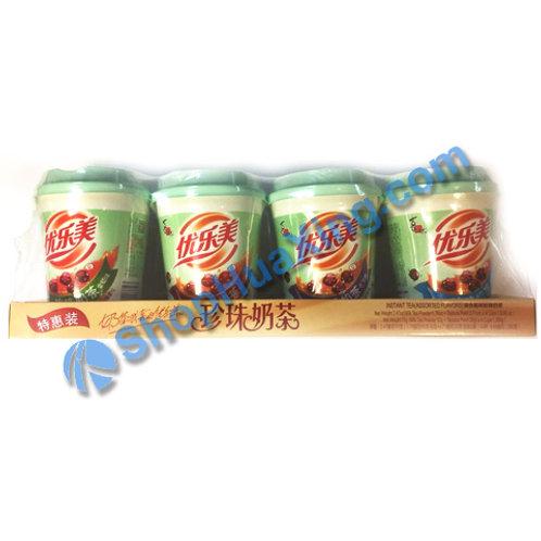 04 Instant Milk Tea Powder Assorted Flv 优乐美珍珠奶茶 4种口味 70gX4