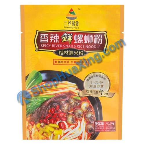 04 Spicy River Snails Rice Noodle 三养易食香辣鲜螺蛳粉 410g