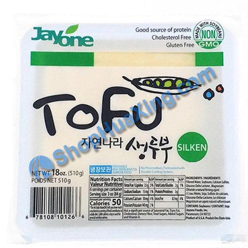 04 Jayone Silken Tofu 嫩豆腐 绿色 18oz