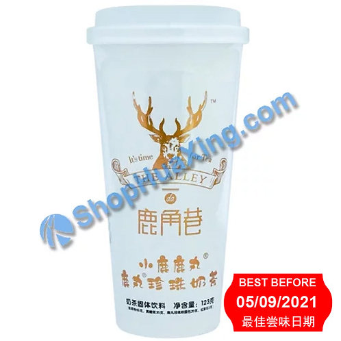 04 LJX Black Tea Flv Milk Tea (***买1送1***) 鹿角巷鹿丸珍珠奶茶 小鹿鹿丸 123g