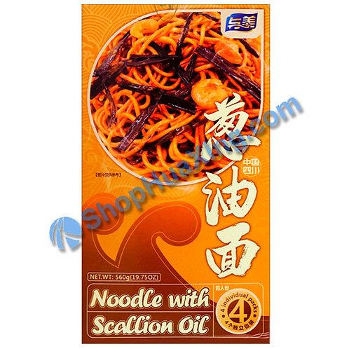 03 Noodle with Scallion Oil 与美 葱油面 560g