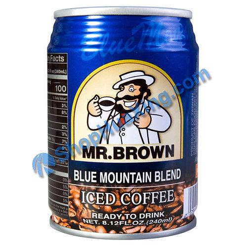 04 Mr. Brown Blue Mountain Blend Iced Coffee 伯朗 蓝山咖啡 240ml