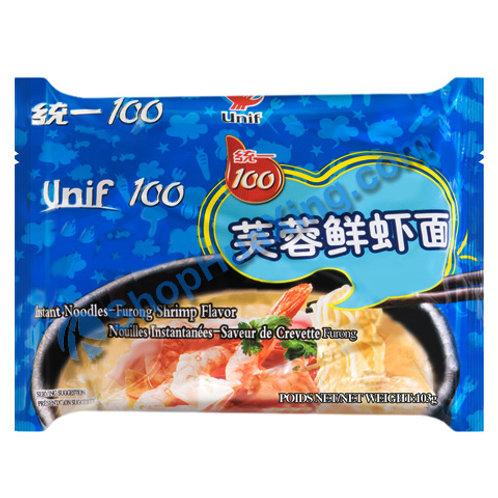 03 Unif Instant Noodle Furong Shrimp Flv 统一芙蓉鲜虾面 103g