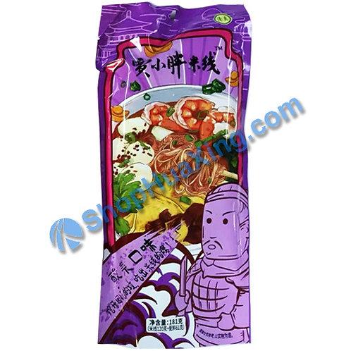 03 JXP Rice Noodle Chinese Sauerkraut Flv 贾小胖米线 酸菜口味 181g