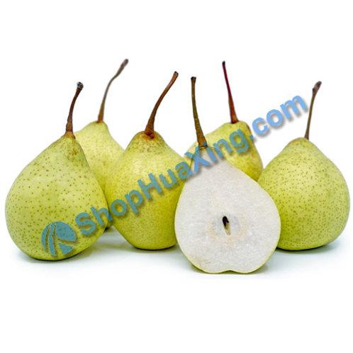 01 California Ya Pear 1.2-1.4LB 3pcs 加州鸭梨 /包
