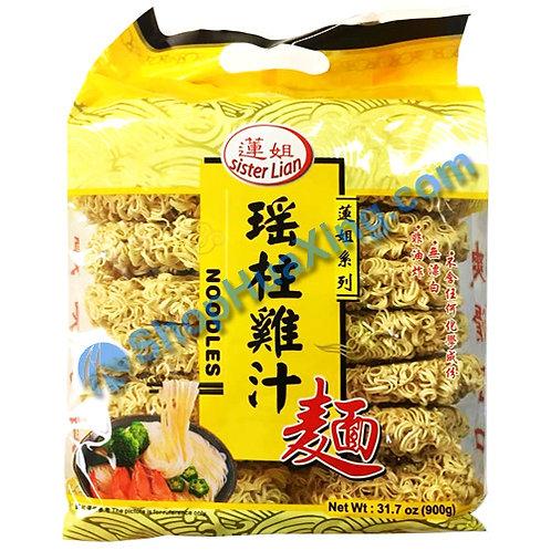 03 Dried Noodle 莲姐 瑶柱鸡汁面 900g