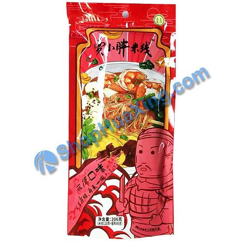 03 JXP Rice Noodle Spicy Flv 贾小胖米线 麻辣口味 206g