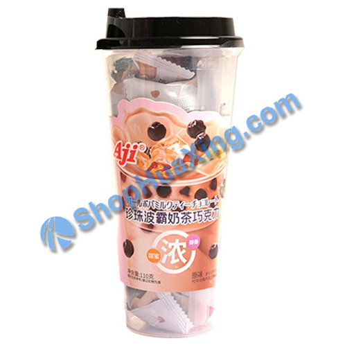 04 Aji Lactic Milk Drinks Original Flv 珍珠波霸奶茶巧克力 原味 110g