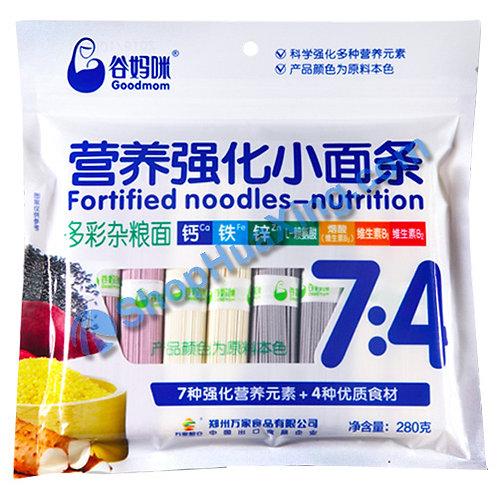 03 Kids Multigrain Noodles 7:4 谷妈咪 多彩杂粮面 280g