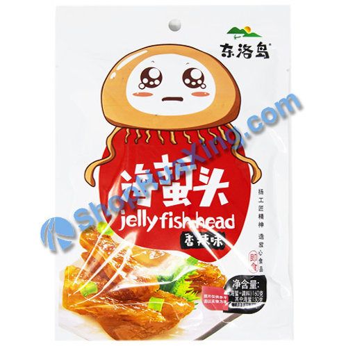 01 Jelly Fish Head Spicy Flv. 东洛岛海蜇头 香辣味 160g