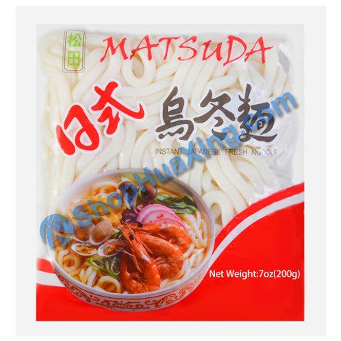 04 Instant Japanese Noodle 松田 日式乌冬面 200g