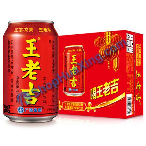 04 Herbal Tea 王老吉凉茶 310ml x 24 /箱