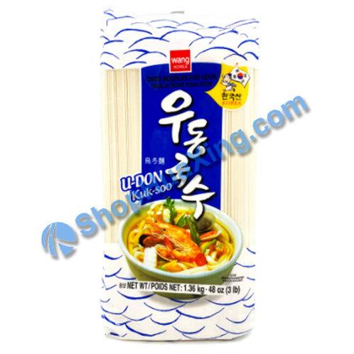 03 Wang Dried Udon Noodle 韩国乌冬面 3Lb
