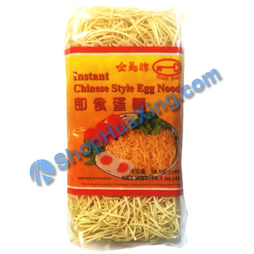 03 Instant Chinese Style Egg Noodle 金匙牌 即食蛋面 400g