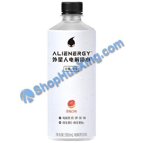 04 Alienergy Water Grapefruit Flv. 元气森林外星人电解质水 西柚口味 500ml
