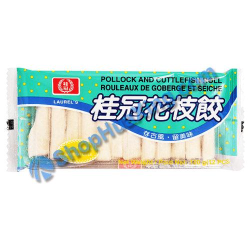 05 Pollock and Cuttlefish Roll 桂冠花枝饺 100g