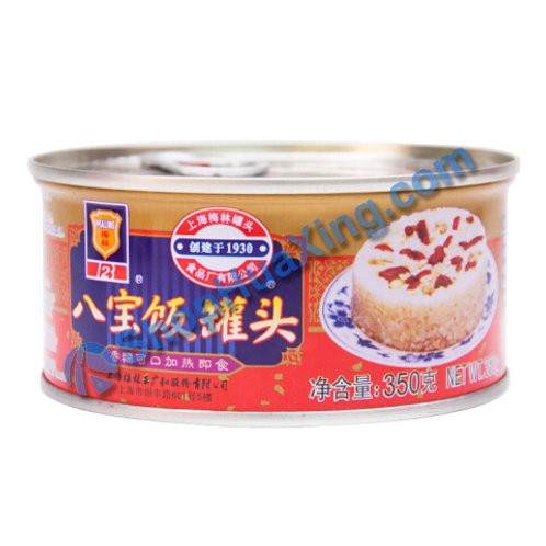 04  Canned Rice Pudding 梅林 八宝饭 350g