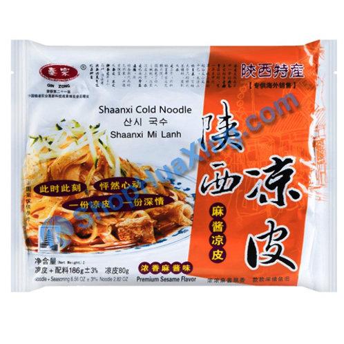 03 Shaanxi Cold Noodle Sesame Flv 秦宗陕西凉皮 浓香麻酱 168g