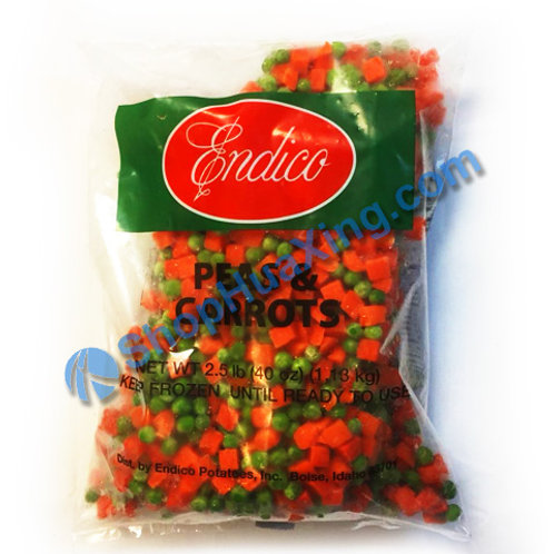 05 Endico Frozen Peas & Carrots 速冻青红豆 2.5LB
