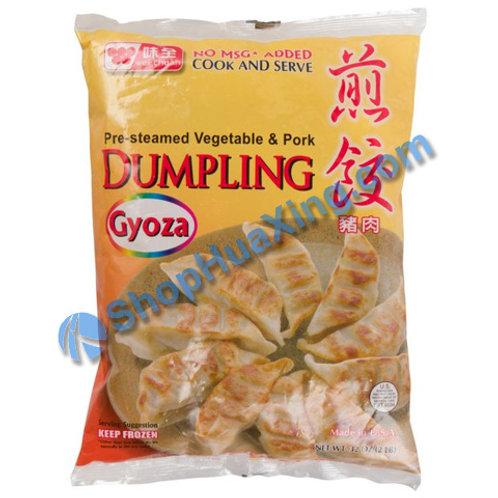 05 WC Fully Cooked Pork Dumpling 味全 猪肉煎饺 32oz