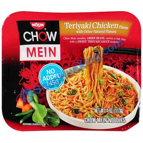 03 Nissin Chow Mein Teriyaki Chicken Flv. 日清炒面 红烧鸡肉 4oz