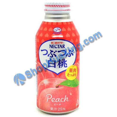 04 Fujiya Nectar Drink Peach 不二家饮料 白桃味 400mL
