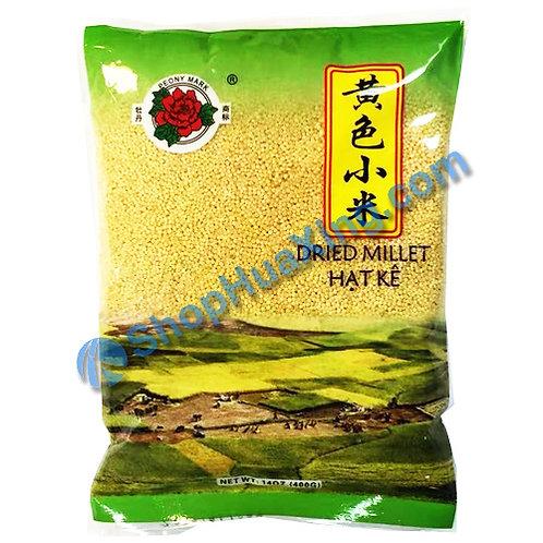 04 Dried Millet 牡丹 黄色小米 14oz