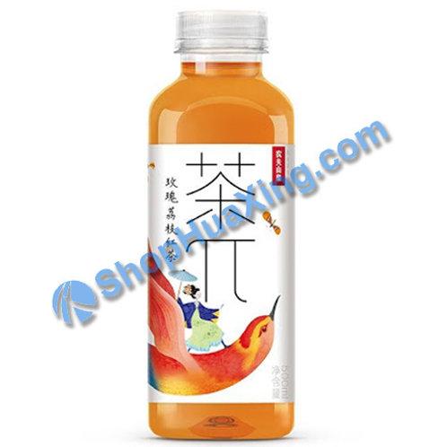 04 Rose Lychee Teas 农夫山泉 茶π 玫瑰荔枝红茶 500ml