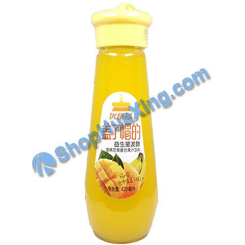 04 Banana Mango Juice 优维多 香蕉芒果复合果汁饮料 420ml
