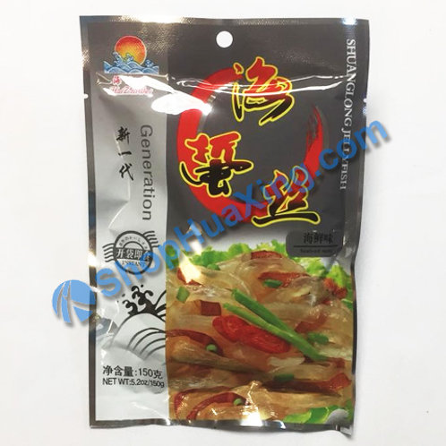 01 Jelly Fish Sliced Seafood Flv. 海之味 海蜇丝 海鲜味 150g
